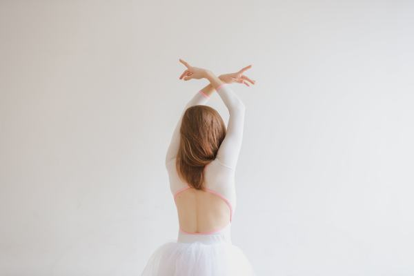 Ballet Dancer Back Photo